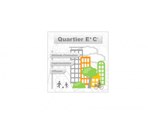 22 mars – Projet de recherche Quartier Energie positive/Réduction Carbone – Paris